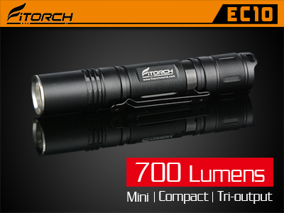New EC10 P20R P30R LED Flashlights